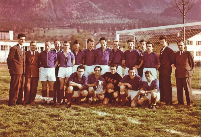 Erster Cupsieg im Jahr 1955