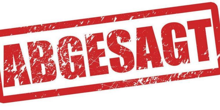 Absage Generalversammlung vom 11. März